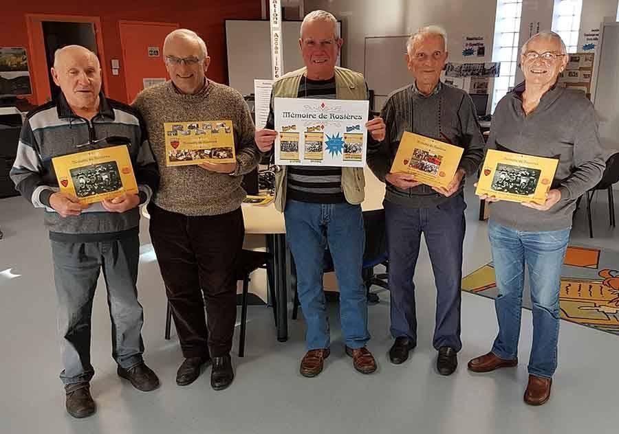"""Le troisième tome de """"Mémoire de Rosières"""" s'intéresse aux pompiers"""