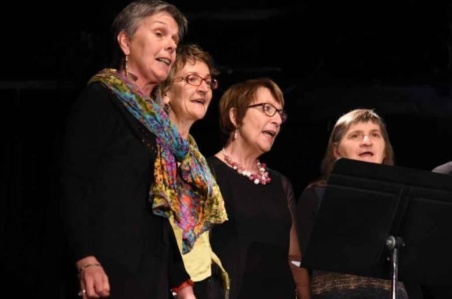 Les Chanter'elles. Photo Lucien Soyere