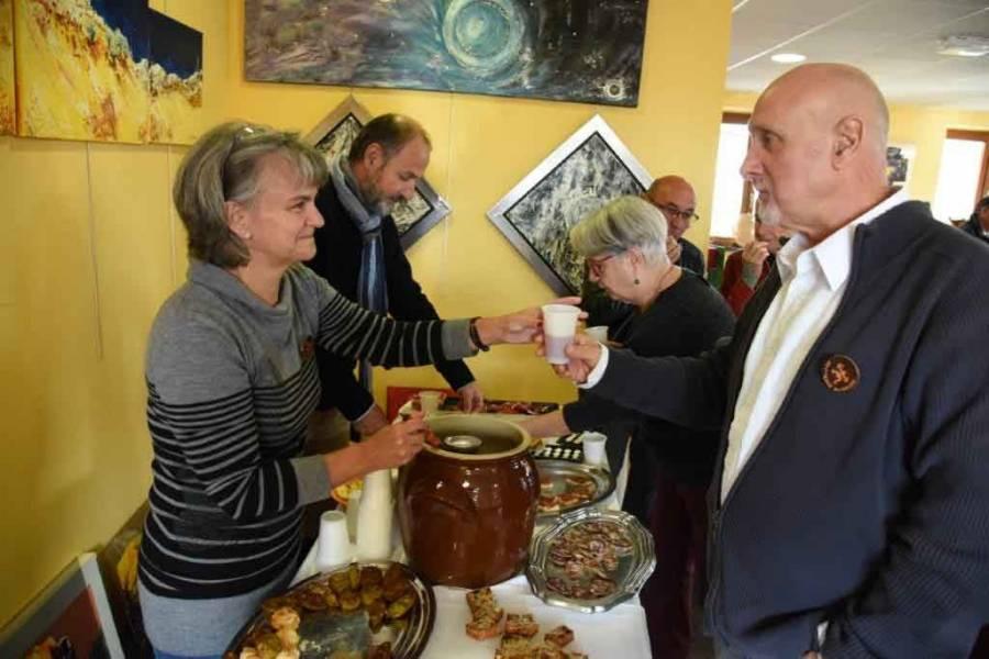 Gérard Déchaumet, le président d'ART'Terre du bourg. Photo Lucien Soyere
