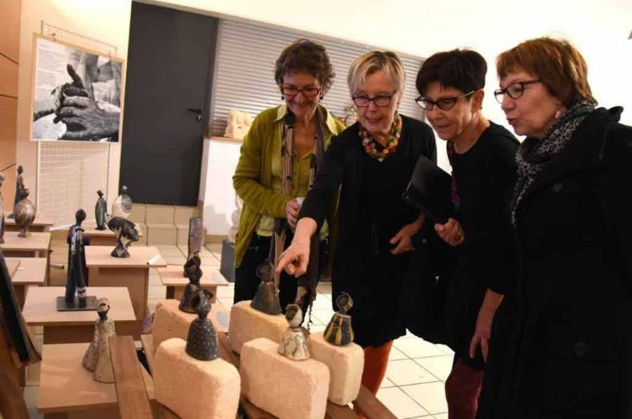 Lapte : l'exposition d'Art'Terre du bourg en images