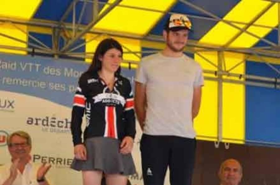 Elise Chabbey et Maxime Danon.