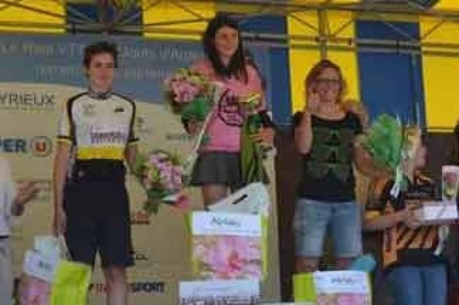 Le podium femmes.