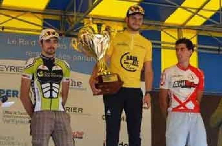 Le podium hommes.