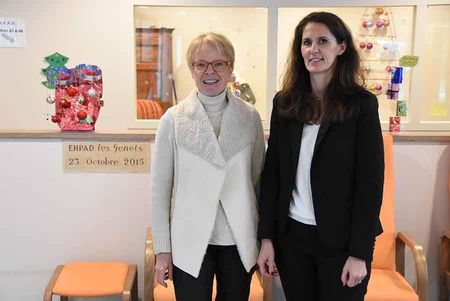 Deux femmes prennent les rênes de la maison de retraite des Genêts