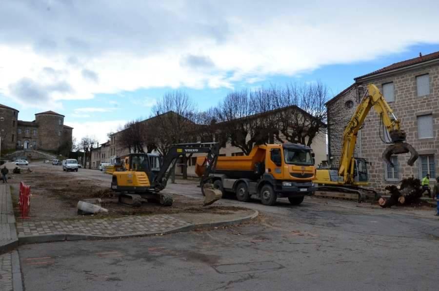 Monistrol-sur-Loire : l'abattage des arbres en vidéo