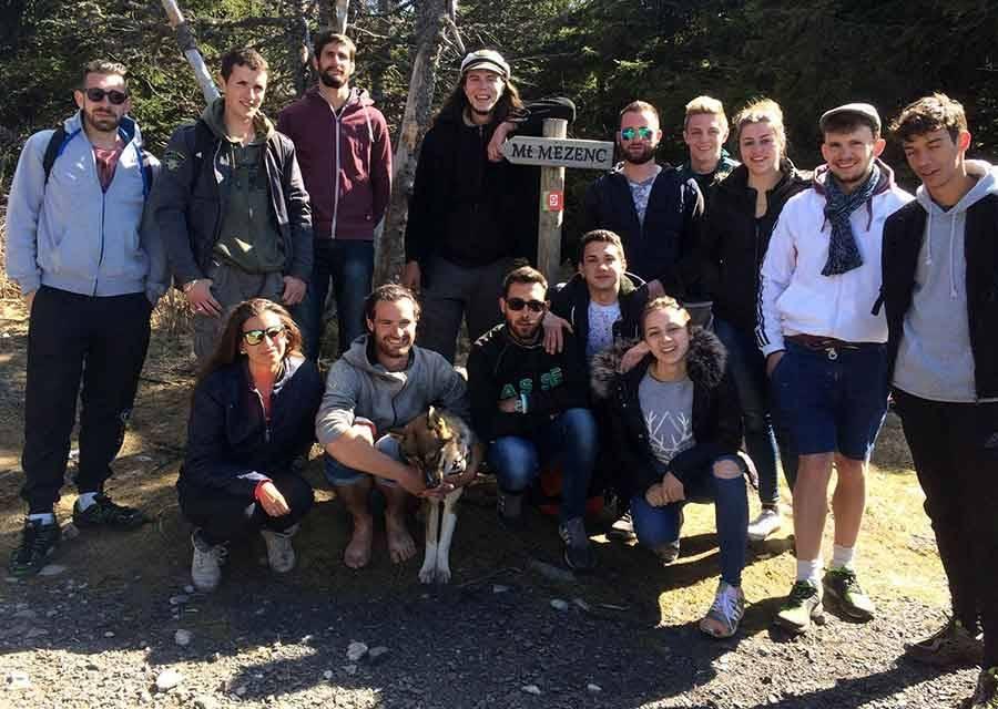 Tence : les jeunes de Fox Box à l'assaut du Mont Mézenc