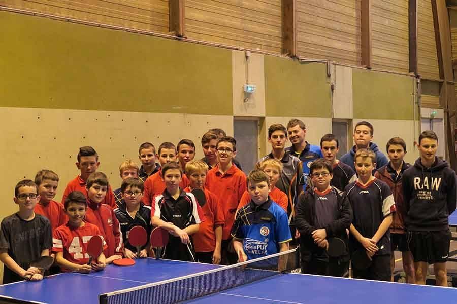 Tennis de table : cinq Yssingelais au niveau régional
