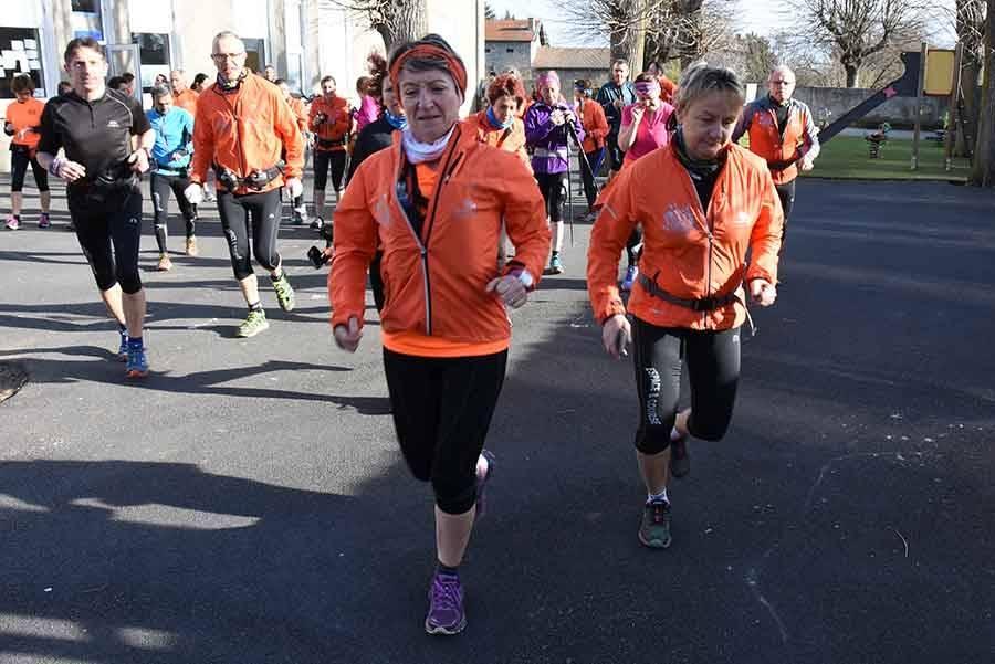 Saint-Maurice-de-Lignon : 300 marcheurs et traileurs entre Loire, Lignon et Ramel