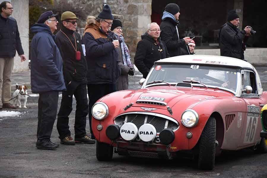 Le Rallye Monte-Carlo historique en images