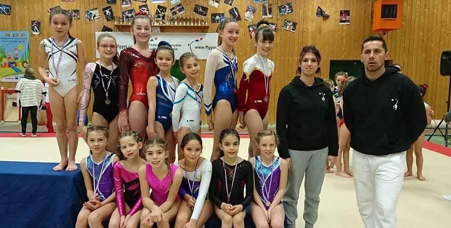 Gymnastique : six titres départementaux pour Yssingeaux