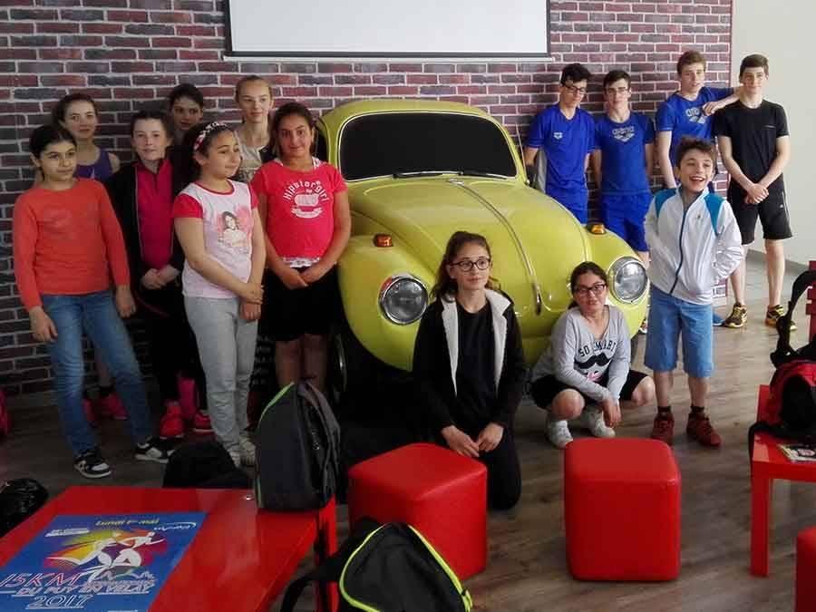 Natation : un stage intensif pour les jeunes Ponots