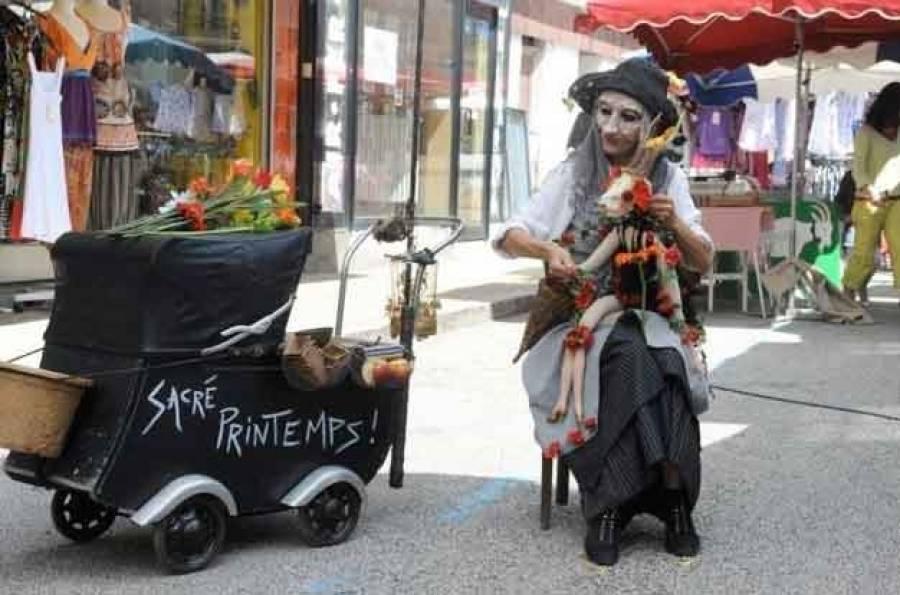 """Carole Gentil et son spectacle """"Sacré Printemps"""""""