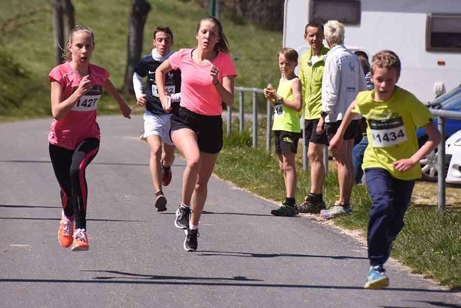 Lapte : les jeunes aussi ont couru sur le Trail des Hauts Clochers