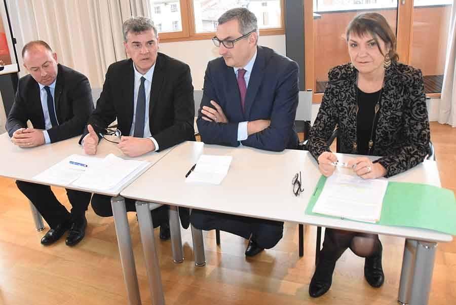 Les quatre parlementaires de Haute-Loire présentent en commun leurs vœux