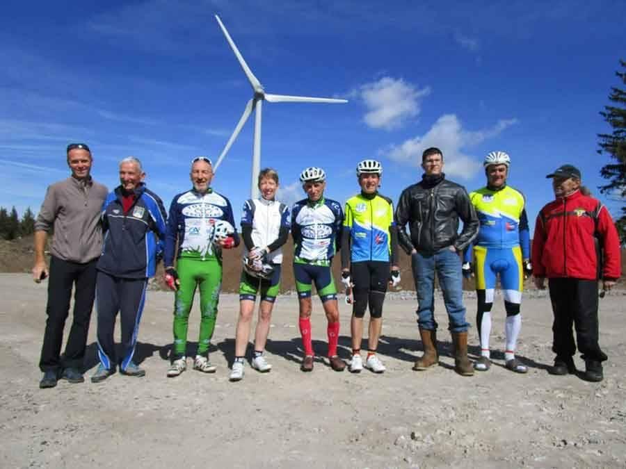 Les cyclotouristes ponots se distinguent sur la 70e Flèche Vélocio
