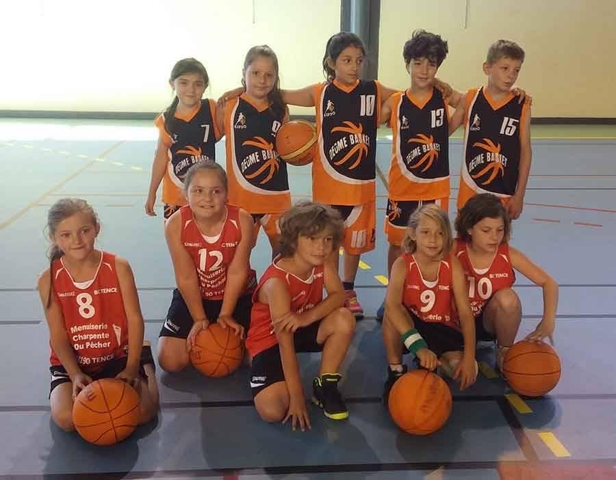 Tence : neuf équipes de basket à Bourg-Argental contre Deume