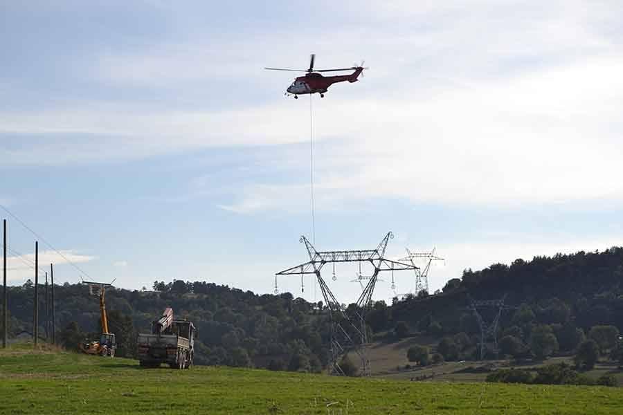 La dotation de RTE (Réseau de Transport de l'Electricité) attribuée à l'occasion des travaux de la ligne à haute tension a permis de réaliser des investissements.