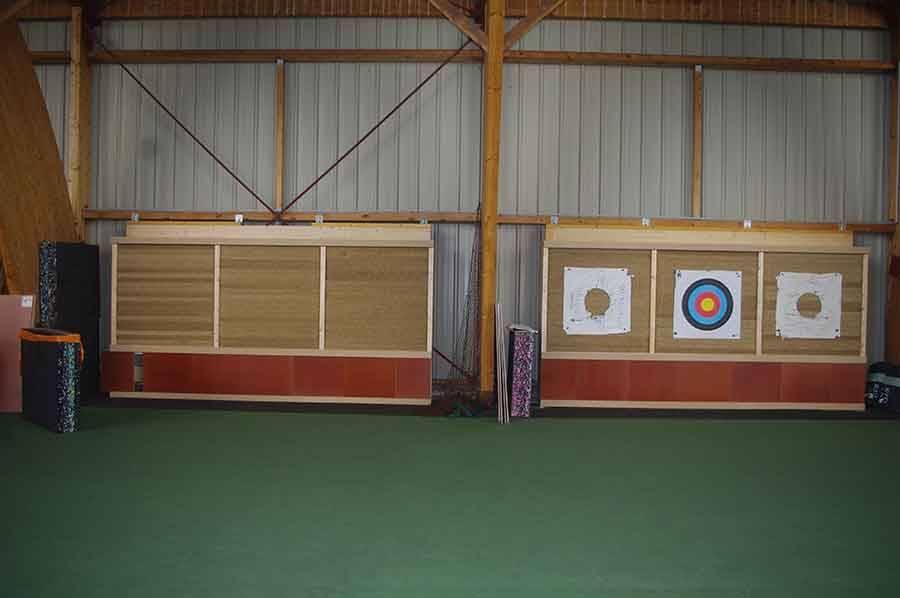 Sainte-Sigolène : un nouveau mur de cibles pour les archers