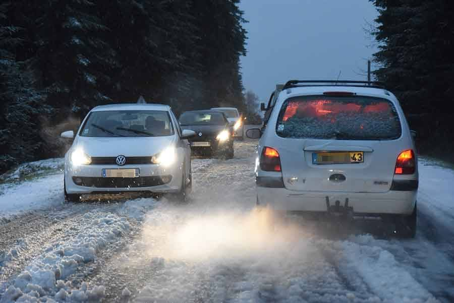 Neige et fortes pluies annoncées demain — Drôme et Ardèche