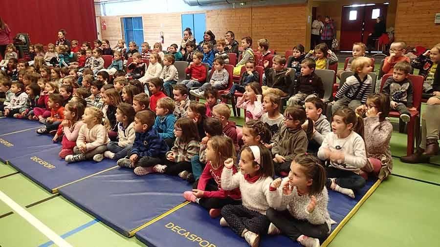 Grazac : un spectacle captivant pour les jeunes écoliers