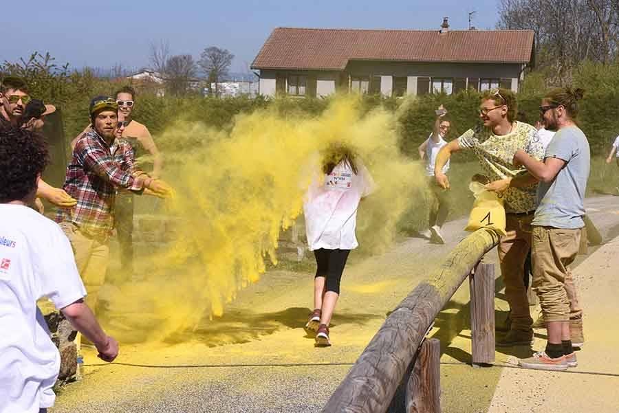Yssingeaux : une course haute en couleur