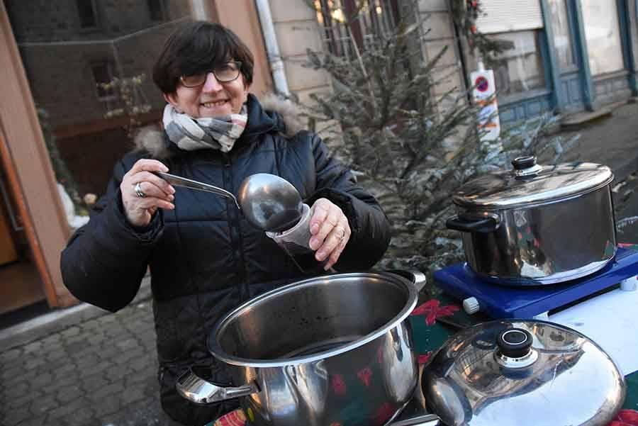 Saint-Agrève : le marché de Noël en images