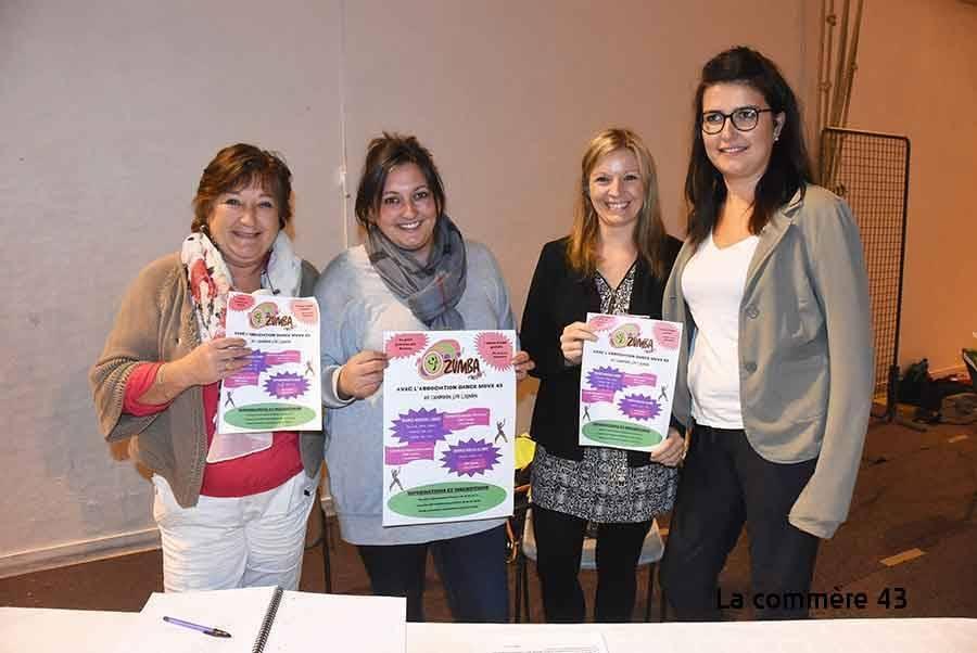 Le Chambon-sur-Lignon : une nouvelle association propose de la zumba