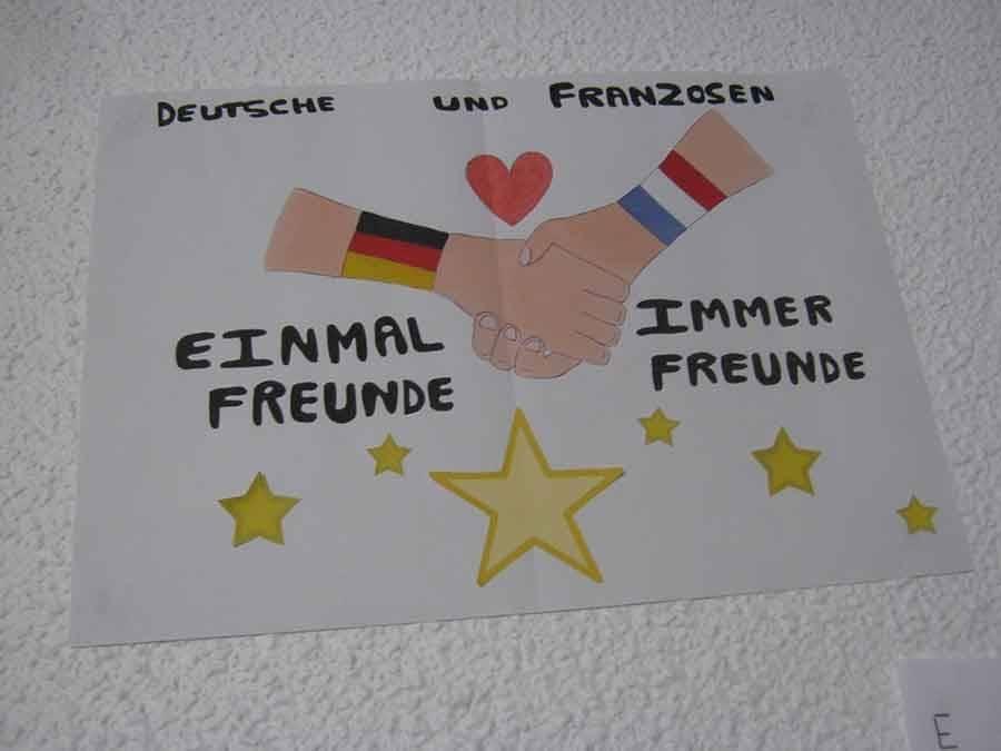 Un repas allemand dans les collèges publics pour commémorer le Traité de l'Elysée