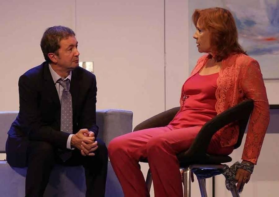 Puy-en-Velay : Éva Darlan et Frédéric Bouraly se donnent la réplique dimanche au théâtre