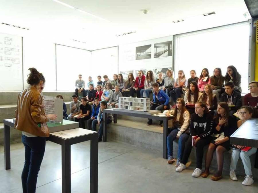 Tence : les 5e du collège public découvrent l'architecture de Le Corbusier