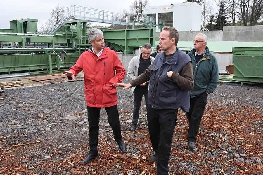 Araules : la scierie Celle se modernise et agrandit son parc à grumes