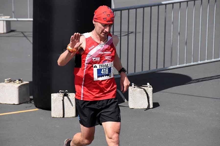 Laurent Cartal, vainqueur sur 11 km