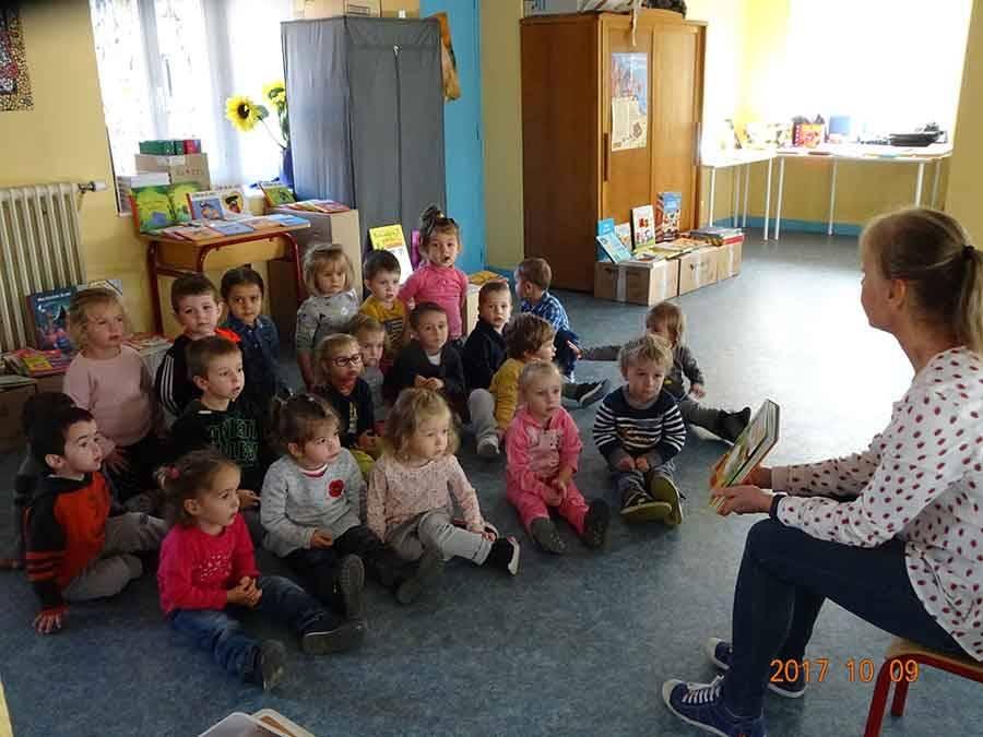 Grazac : c'est la semaine du livre à l'école