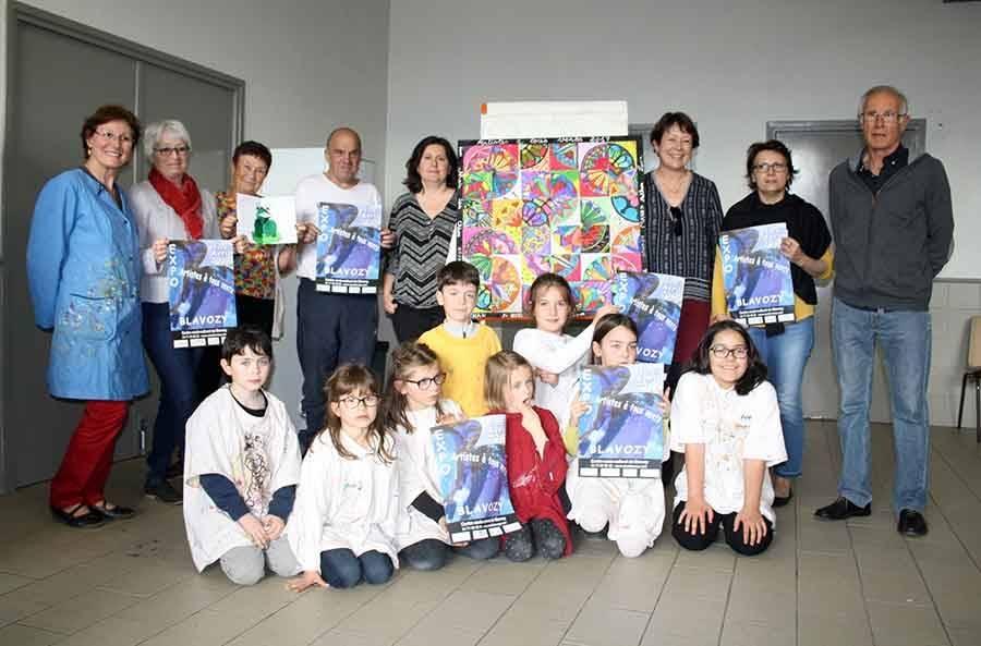 Blavozy : cinquante artistes dans le vent ce week-end au centre socio-culturel