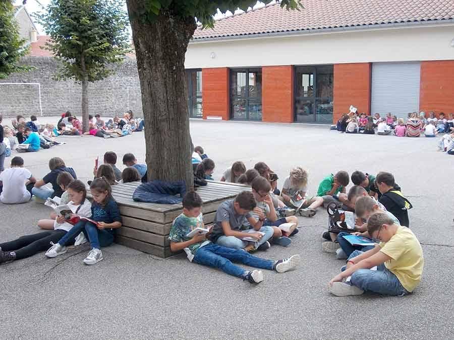 Saint-Didier-en-Velay : des rendez-vous lecture pour les écoliers de Jeanne-d'Arc