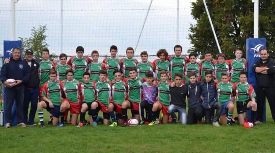 Rugby : les cadets de Monistrol-sur-Loire en demi-finale du championnat Lyonnais