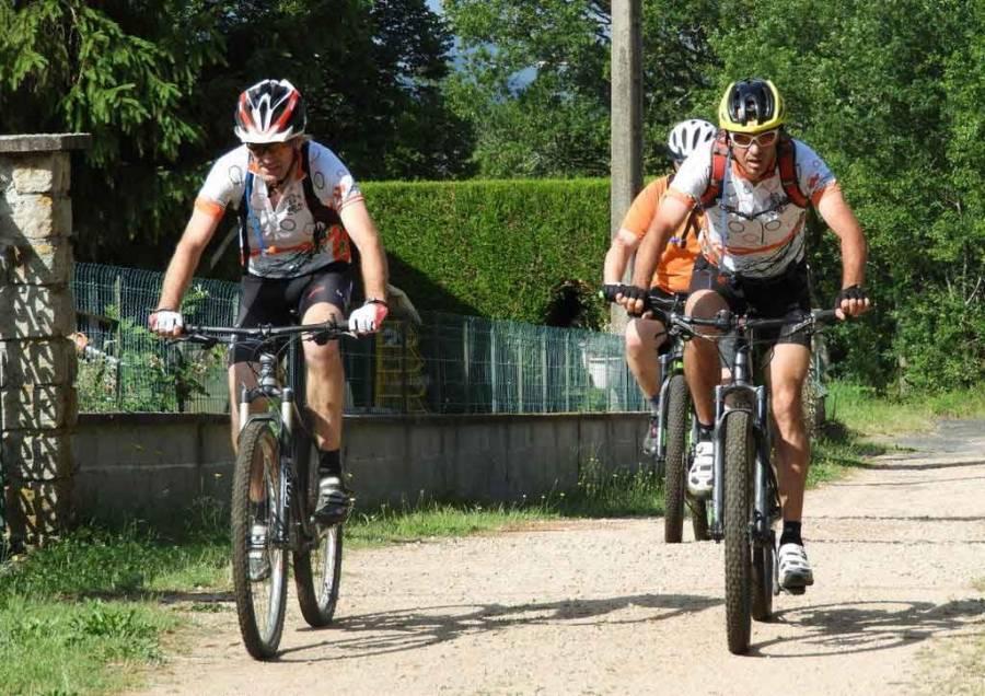 Blavozy : 180 vététistes sur les pistes de l'Arkose