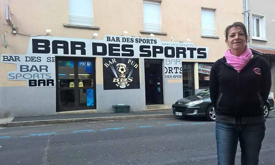 Saint-Maurice-de-Lignon : Cathy et Fred Bompard à la tête du Bar des sports
