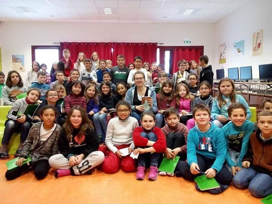 Saint-Just-Malmont : les écoliers rencontrent un auteur de littérature jeunesse
