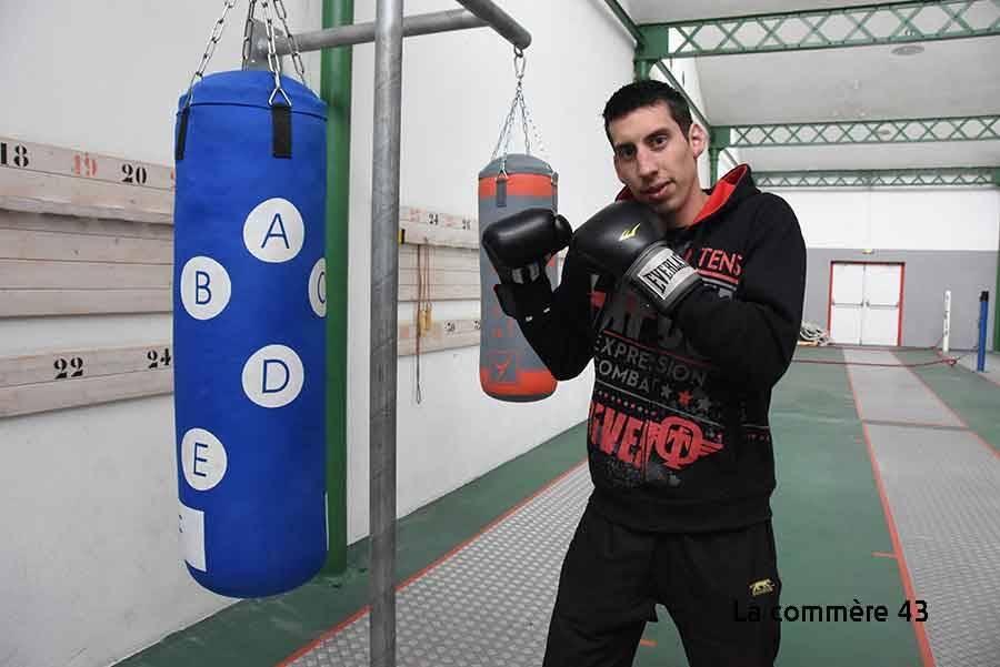 Anthony Delolme est le président du Boxing Club d'Yssingeaux.