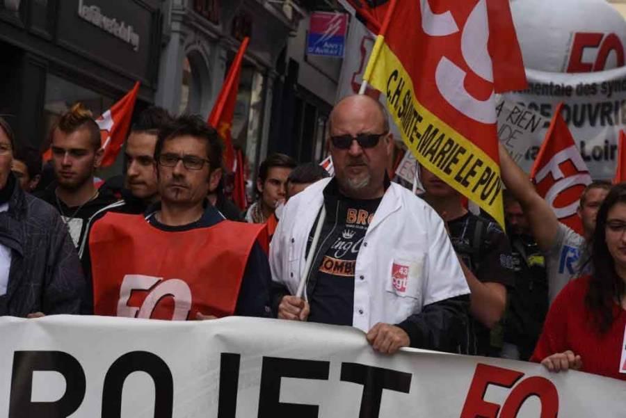 Loi Travail : entre 1200 et 1500 manifestants au Puy-en-Velay