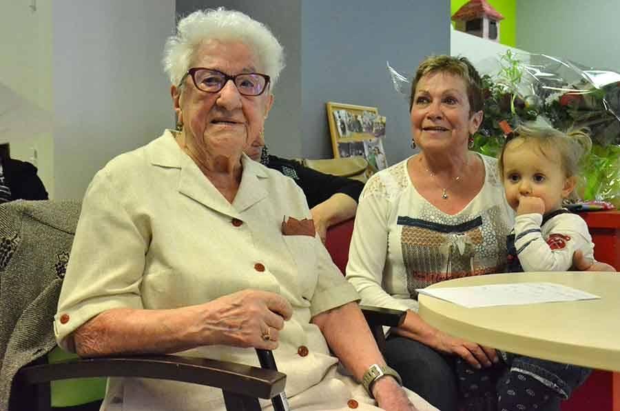 Tence : une nouvelle centenaire à la maison de retraite