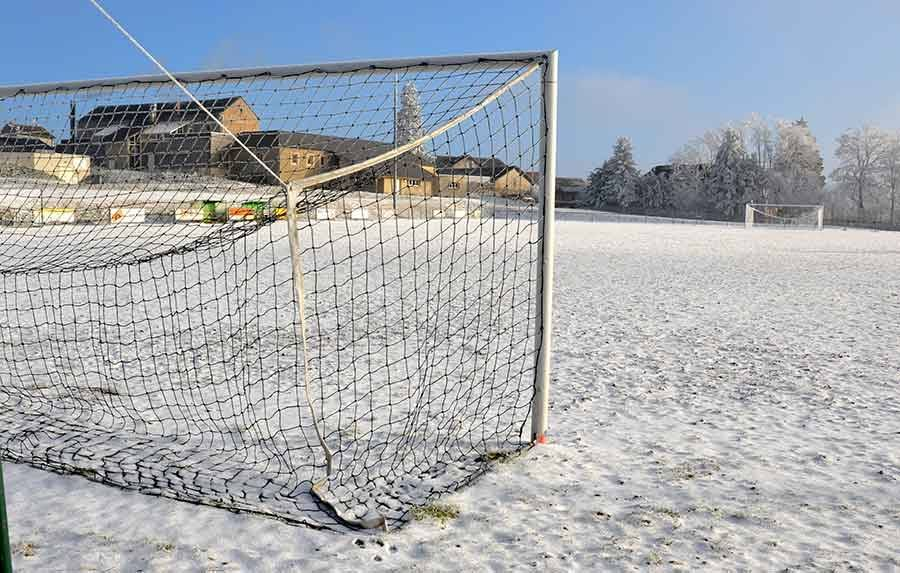 Football : une journée tronquée par la neige