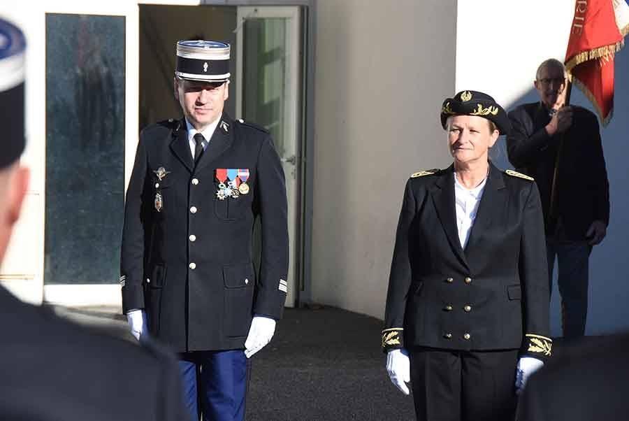 Le capitaine Antoine Soubiran à la tête des gendarmes de la compagnie d'Yssingeaux