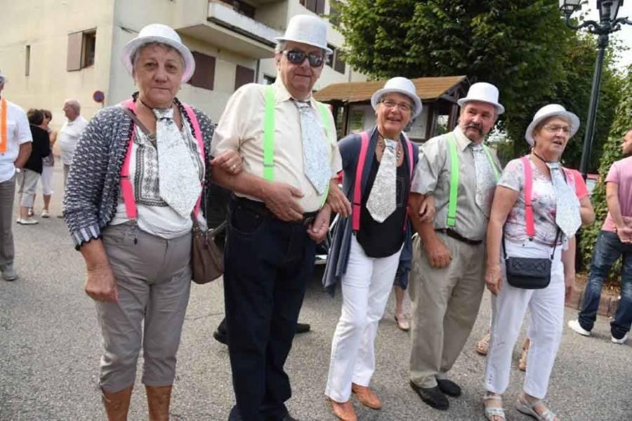 Monistrol-sur-Loire : le défilé des classes en 6 en images