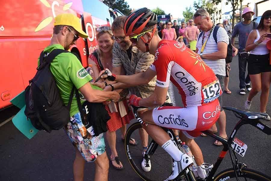 Tour de France : les images de l'arrivée au Puy-en-Velay