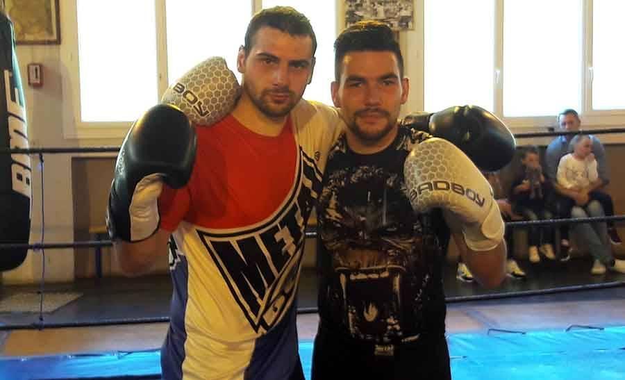 Alexandre Joubert (à droite) en compagnie de son partenaire Eric.