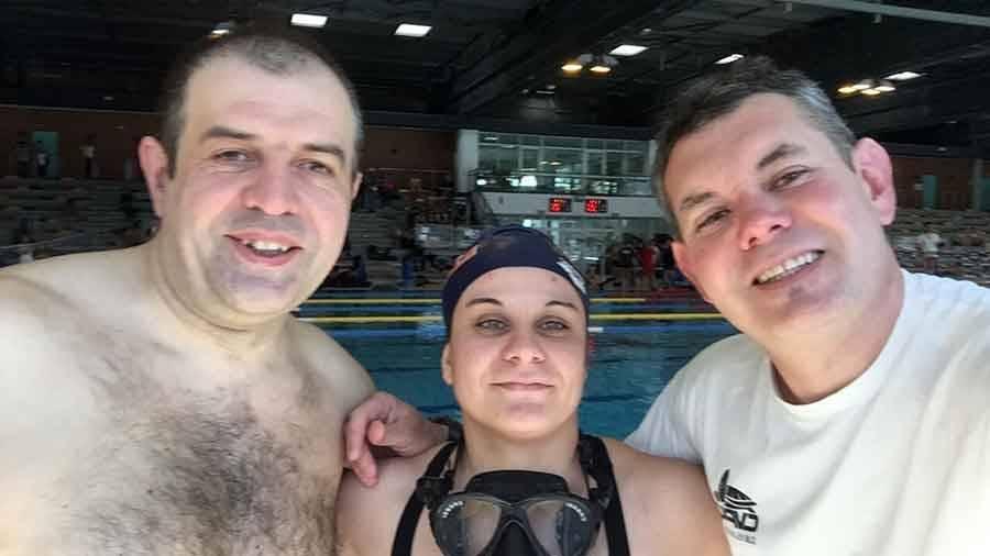 Plongée sportive en piscine : carton plein pour le Puy à Clermont