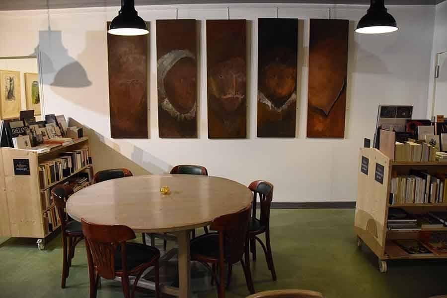 Les toiles de Serge Kantorowicz à savourer à l'Arbre vagabond au Chambon-sur-Lignon
