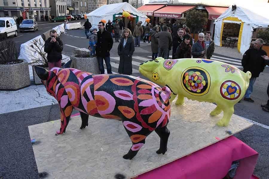Yssingeaux : la fête du cochon en images